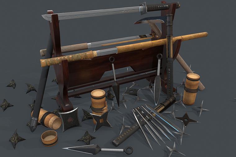 Renowned Ninja Weapons of all Times! - SwordsSwords Blog